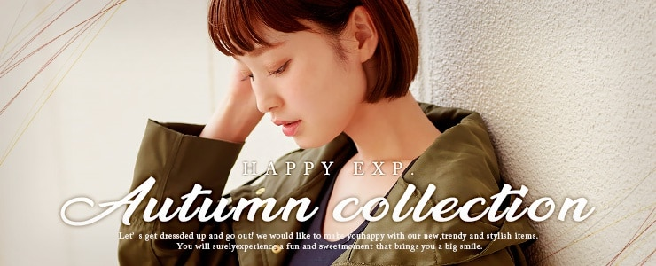【Happy急便】Autumn collection★秋冬アイテム続々登場!!