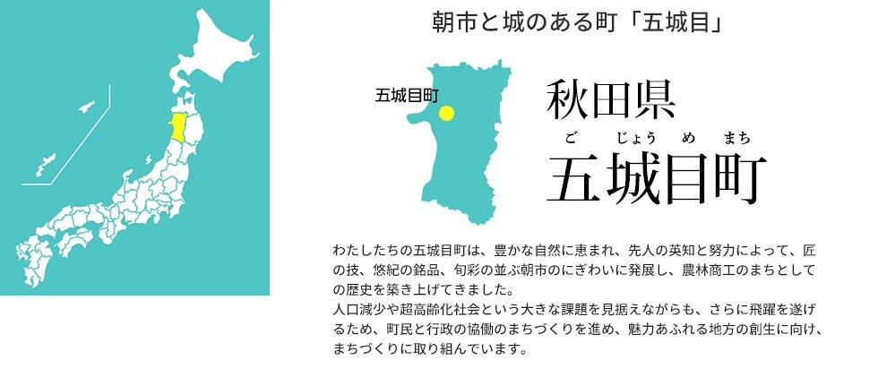 県 五城目 町 秋田 秋田県五城目町の人口推移